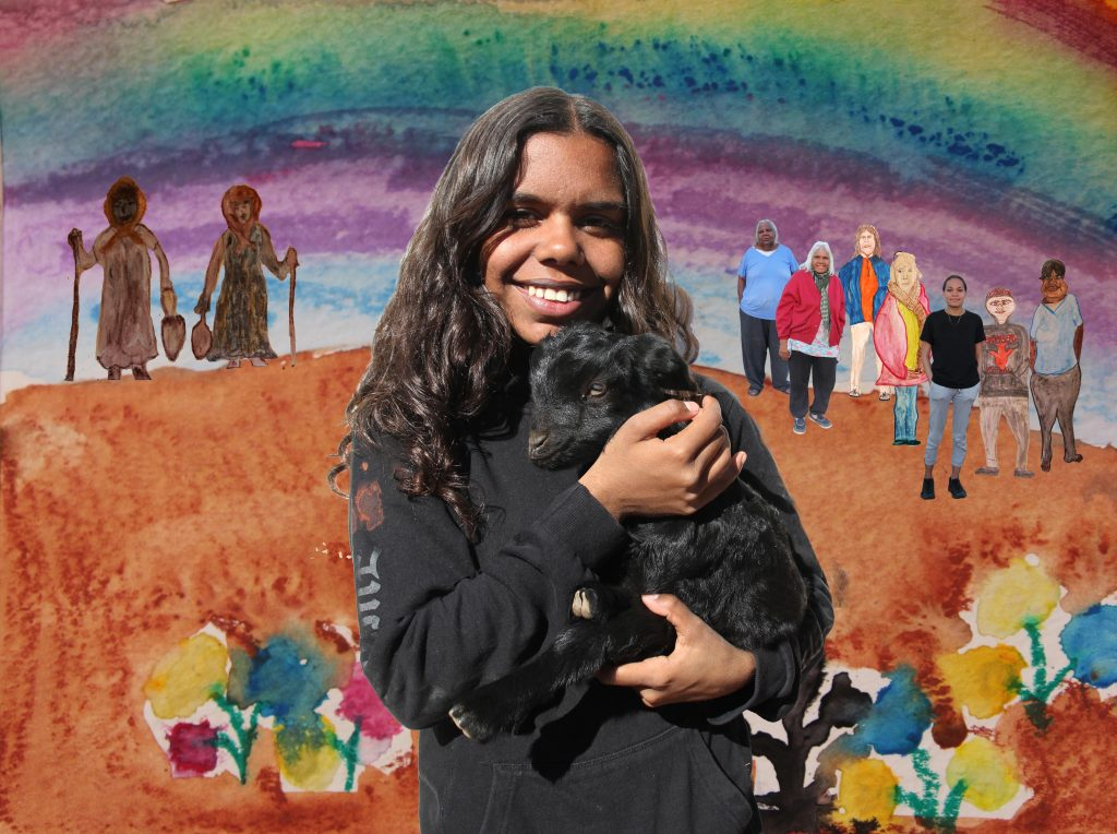 Shaunaya Brady on Adnyamathanha Country recording and interpreting 'Virlkuthalypila and Other Stories from Our Country' with a range of new media.